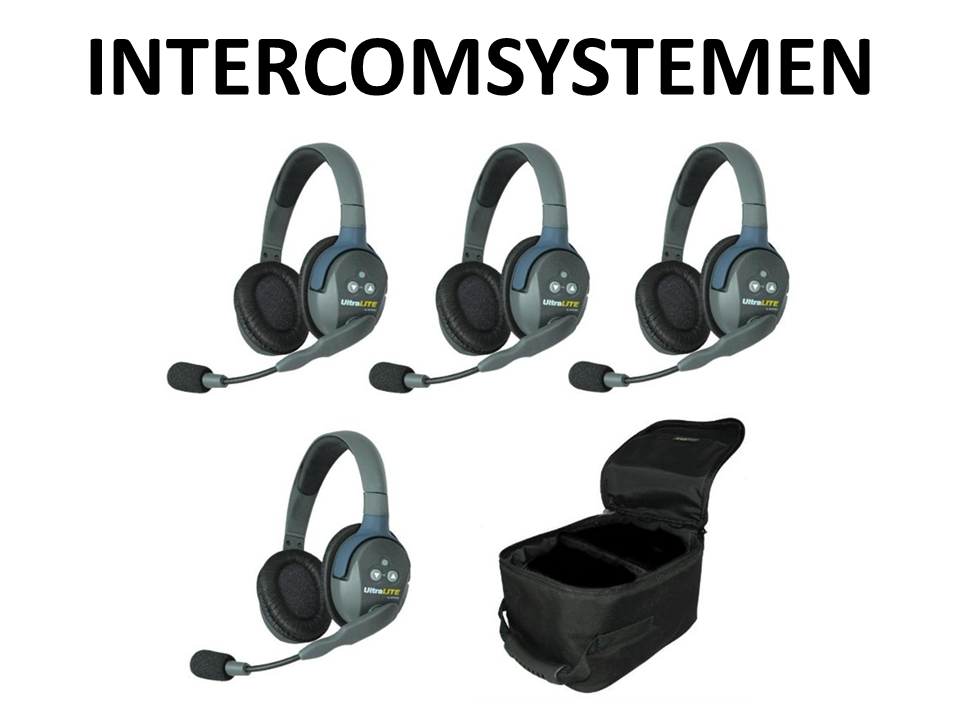 Walkies4Events - Verhuur - Offerte - Intercom-systemen - CT-Dect - UltraLITE Eartec - ASL-intercom