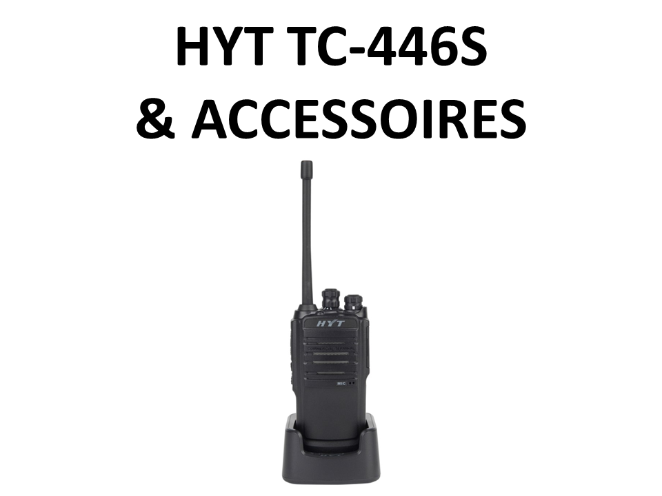 Walkies4Events - Verkoop - Offerte - Vergunningsvrije walkietalkies - HYT TC-446S - RA-H1 - RA-H2 - ACM-01 - ES-02 - SM13M1 - SM08M3 - BL1719