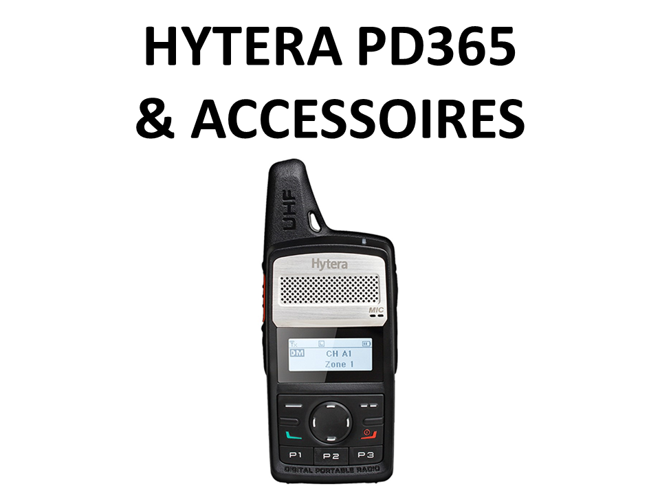 Walkies4Events - Verkoop - Offerte - Vergunde walkietalkies - Hytera PD365 DMR