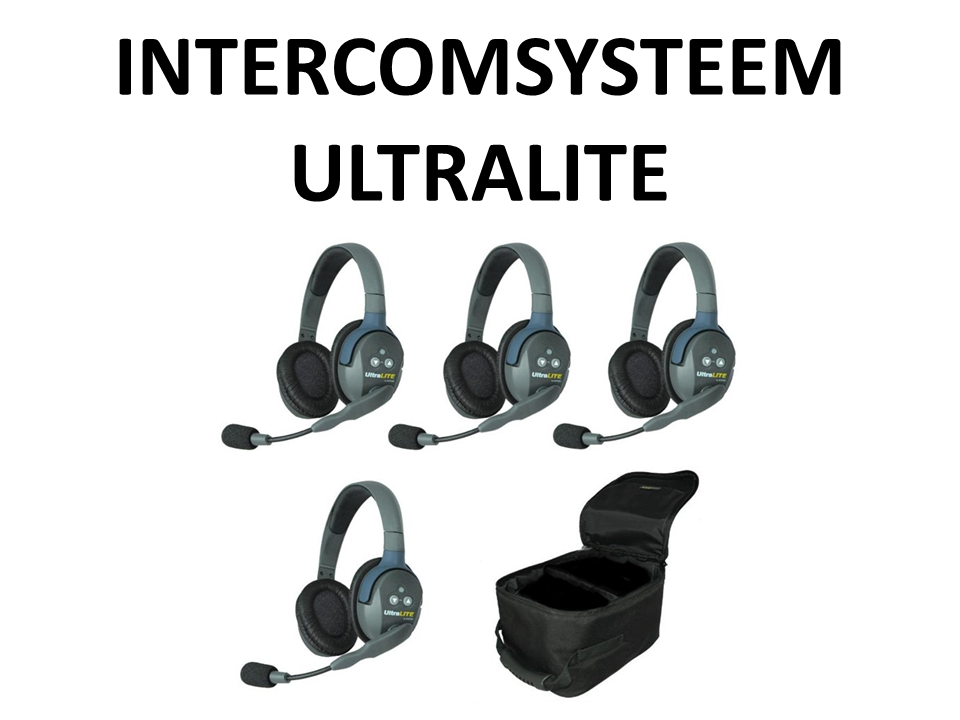 Walkies4Events - Verkoop - Offerte - Intercomsystemen - UltraLITE Eartec