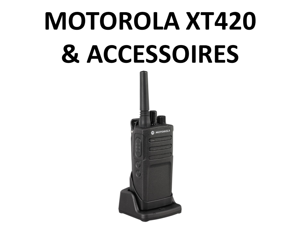 Walkies4Events - Motorola XT420- Verkoop - Offerte - Vergunningsvrije walkietalkies