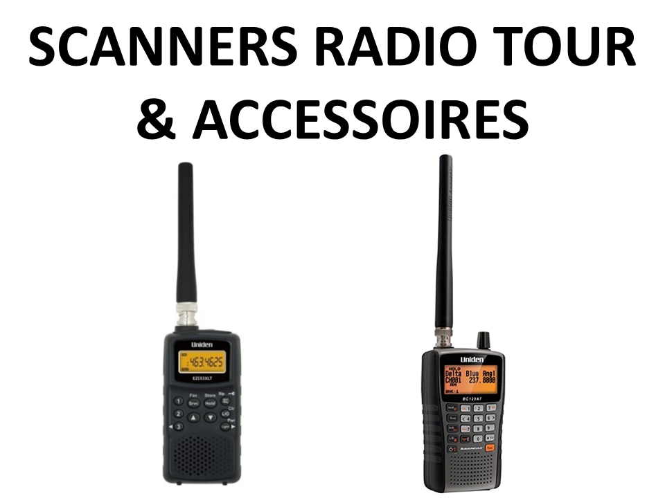 Walkies4Events - Verkoop - Offerte - Scanners Radio Tour - Uniden EZI33XLT - Uniden UBC125XLT - Diamond P810-A - Diamond MC100